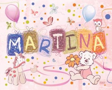 Festa de color rosa (Martina). Quadre per habitación infantil. | Fiesta de color rosa (Martina). Cuadro para habitación infantil. | Color rose party (Martina). Artwork for girl's room decoration.