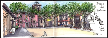 Plaça de l'Ajuntament d'Alella | Plaza del Ayuntamiento de Alella | Alella's Town Hall Square